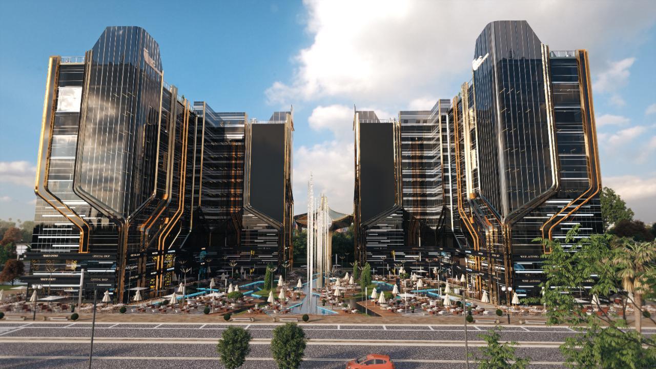 ابراج العاصمة الادارية الجديدة